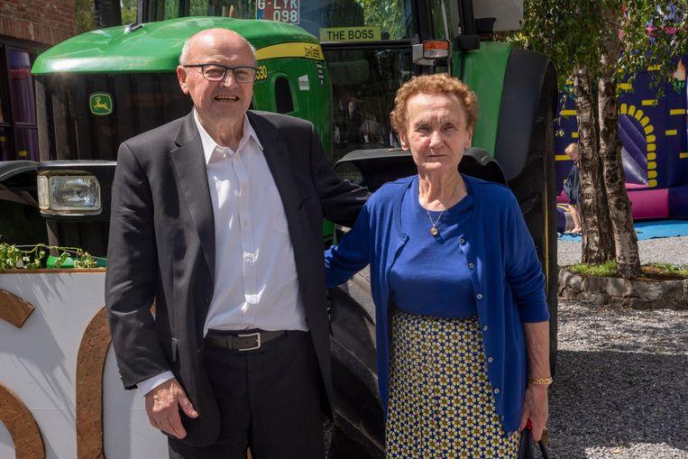 André en Marie zijn 60 jaar getrouwd.