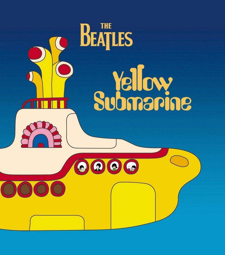 Cover van plaatjesboek van Yellow Submarine Beeld anp