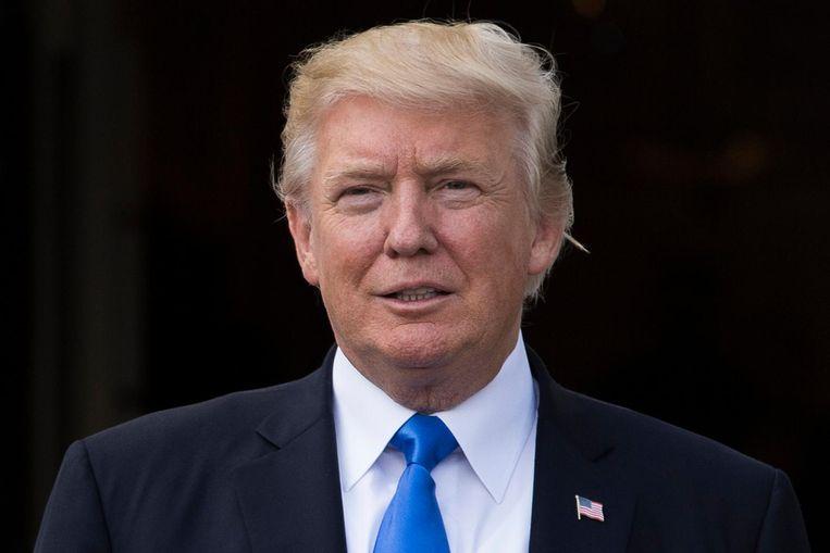 Donald Trump. Beeld anp