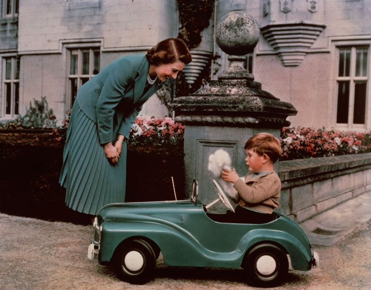 1952: Prinses Elisabeth en Charles (3).  Beeld Getty Images