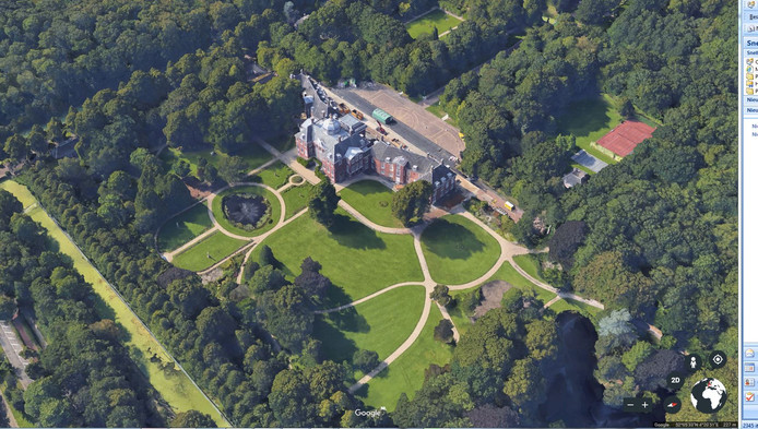 Hoe Huis ten Bosch er van boven uit ziet? Zo!