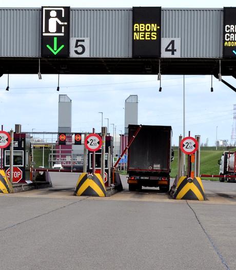 Liefkenshoek Antwerpen 's nachts goedkoper voor trucks