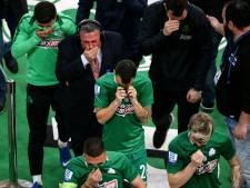 Derby tussen Panathinaikos en Olympiakos na rellen afgebroken