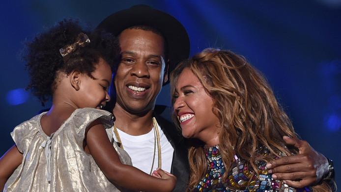Blue Ivy Carter, Jay-Z en Beyoncé