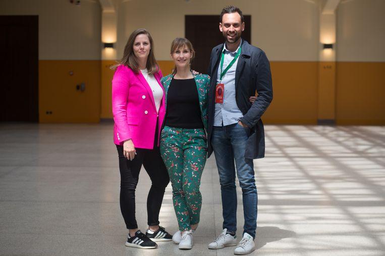 Diversity days  Katrien Van Esser, Anna Gaik en Pascal Smeyers stonden in voor de organisatie