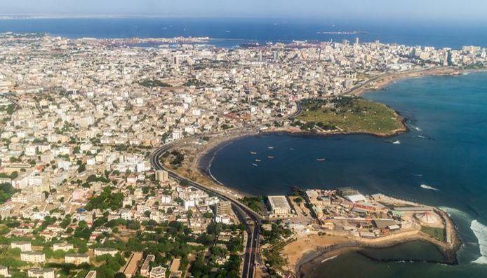 Dakar, Senegal. Illustratiebeeld.