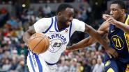 NBA: Kampioen Golden State gaat met billen bloot in Indiana