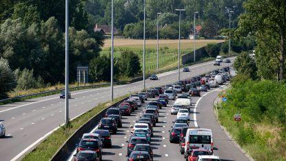 Zware verkeershinder van Antwerpen naar Nederland: E19 hele namiddag helemaal dicht, maar één rijstrook vrij op A12