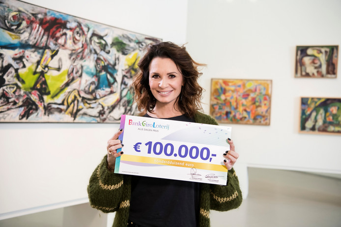 Loterij-ambassadeur Leontine Borsato.