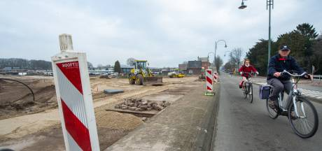 Werk aan rotonde Bredaseweg begonnen