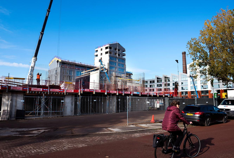 Utrecht - Nieuwbouwlocatie Wilhelminawerf is onderdeel van de Merwedekanaalzone (Foto Marnix Schmidt)