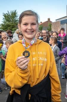 Merel (13) loopt tiende vierdaagse in Oostkapelle
