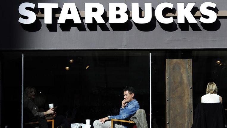 Starbucks in Londen. Beeld null