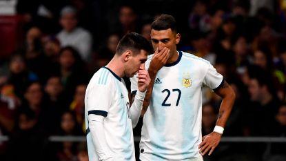 FT buitenland. Rentree Messi helpt Argentinië niet, Matías Suárez laat zich opmerken - Vetokele naar Africa Cup