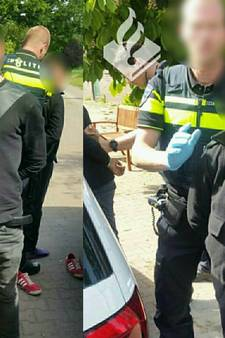 Achterveldse breekt pols na worsteling met twee inbrekers