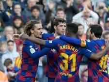 Messi et Griezmann s'entendent à nouveau, le Barça enchaîne