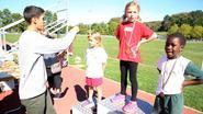 Kampioen Sacoor gevierd tijdens scholenloop