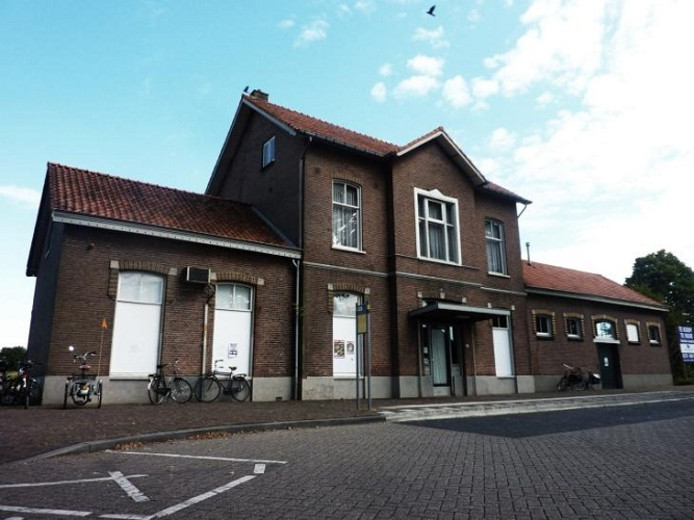 Het stationsgebouw in Vorden.