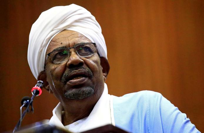 De eerder deze maand afgezette president Omar al-Bashir.