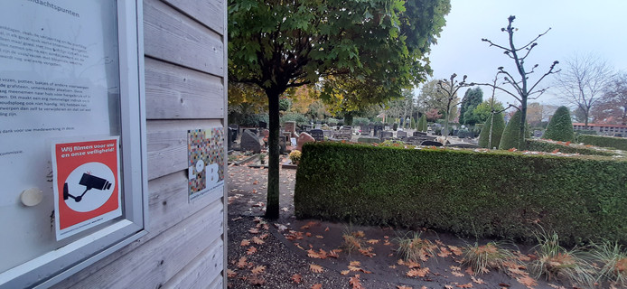 De katholieke begraafplaats in Winterswijk.