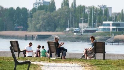 Ook uitrusten op een bankje of picknicken in het park kan weer vanaf maandag
