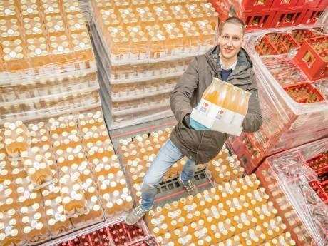 Iemand nog 300.000 flesjes sap?