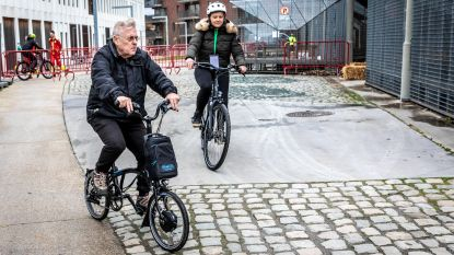 600 mensen testen e-bike aan Park Spoor Noord