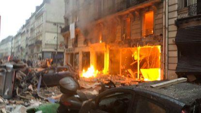 Zware gasexplosie in bakkerij in Parijs: drie doden, onder wie Spaanse toeriste, tien zwaargewonden