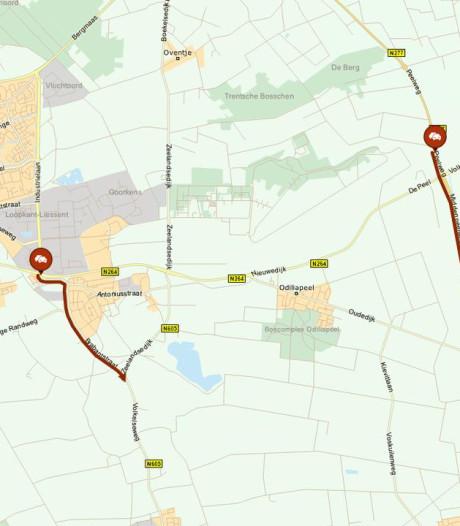 ANWB waarschuwt: al vroeg filevorming op wegen rondom Volkel