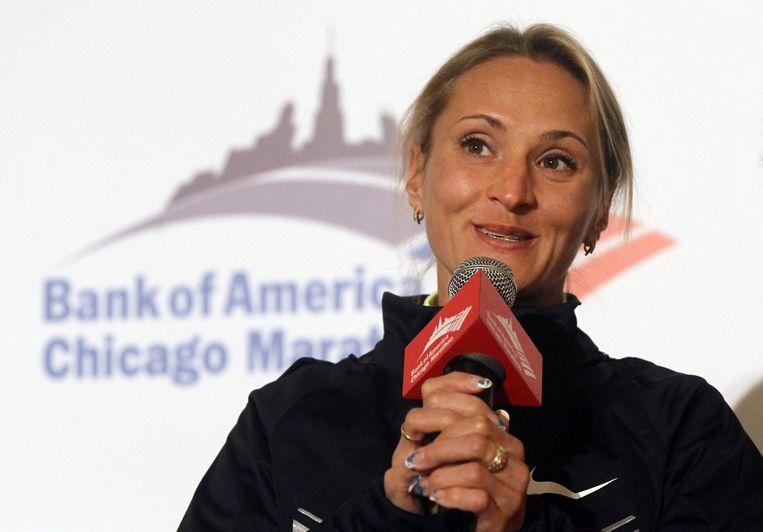 Liliya Shobukhova maakte 450.000 euro aan de Russische bond over.