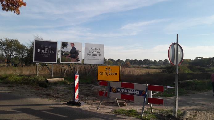 Hier komt een deel van de nieuwe woonwijk de Bulders