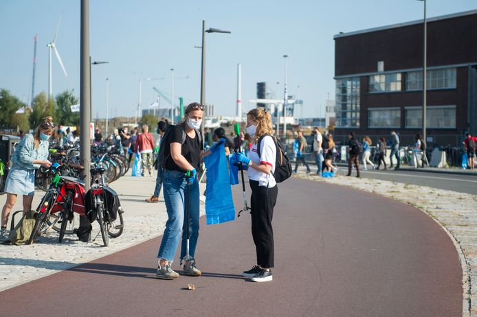 World Cleanup Day in Antwerpen