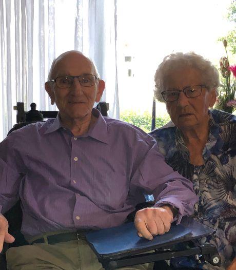 Hoera! Jan en Dien zijn zestig jaar getrouwd