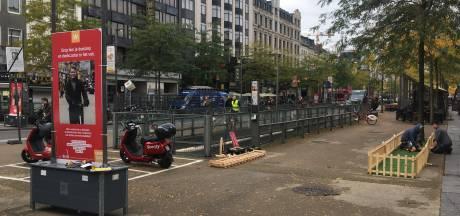 Stad begonnen met weghalen fietsen: 226 foutgeparkeerde en achtergelaten fietsen verwijderd
