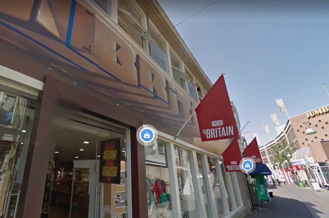 De Enschedese zaak op Google Street View.