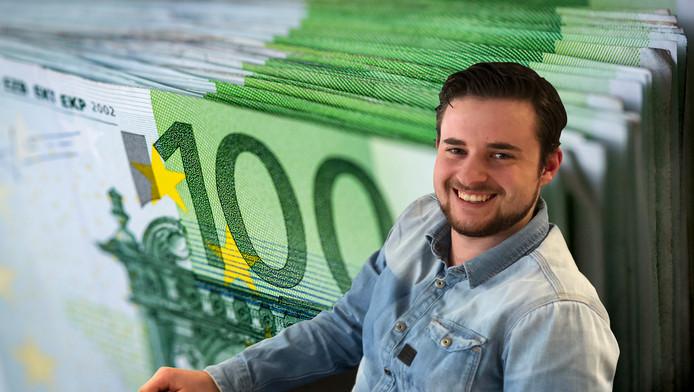 Jesse Lakerveld kreeg 10.000 euro voor zijn ontdekking.