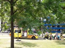 Fietser valt voorover van fiets bij Kronenburgerpark