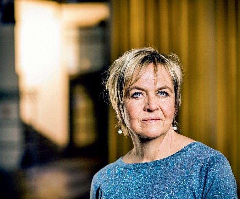 'Freelancers als Annemie Struyf leven in de bubbel van hun eigen programma. Ze zullen pas wakker worden als ze opgebrand zijn of als er aan hun programma wordt geraakt.' Beeld Johan Jacobs