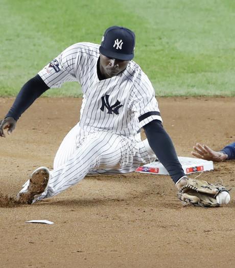 Gregorius met Yankees op rand van uitschakeling voor World Series