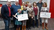Klein Postel en Actie MIN ontvangen elk 1.000 euro