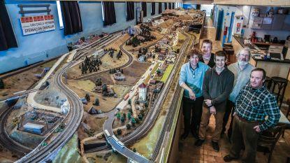 Bezoek tijdens paasweekend langste modelspoorbaan (1.100 meter) van het land
