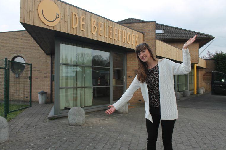Emmelien Desmet is een van de drijvende krachten achter De Beleefhoek.