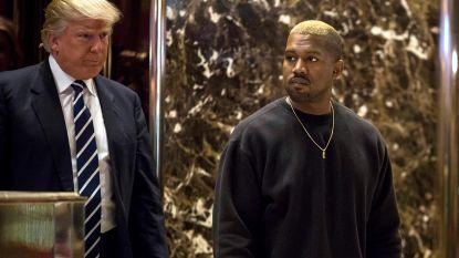 Kanye West gaat vandaag lunchen met Trump