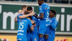"""AA Gent klopt Moeskroen met 3-1 na twee goals van David, Thorup: """"Ik was boos tijdens de rust"""""""