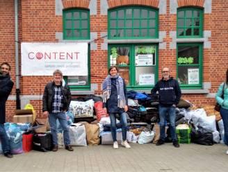 CONTENT zamelt ruim 200 winterjassen in voor vzw 't Schoederkloptje