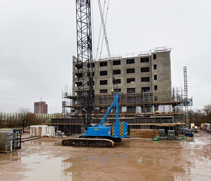 Nieuwbouw van het Bastion Hotel Waalre.