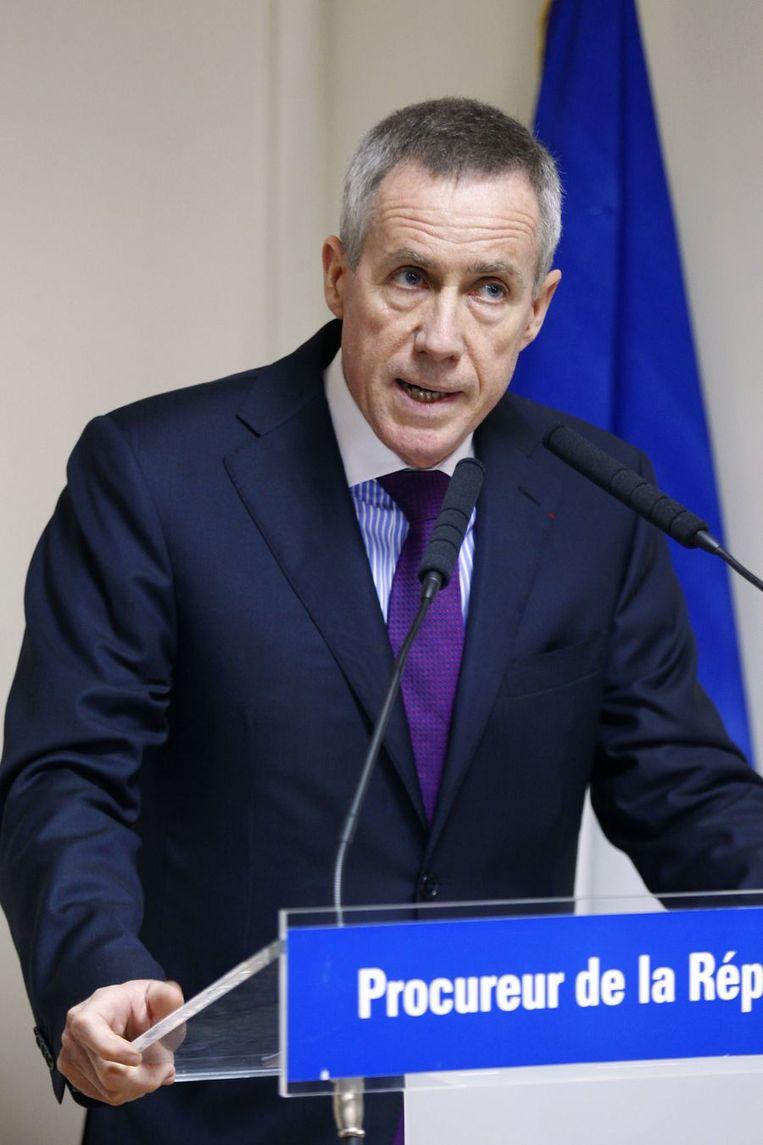 Procureur François Molins.