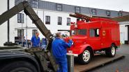 Oldtimer van brandweerpost Ronse rijdt mee in defilé op nationale feestdag