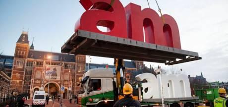 Brandje bij I Amsterdam-letters in Noord