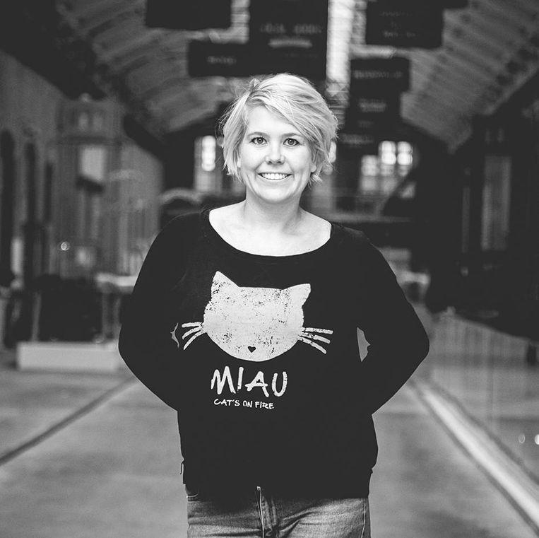 Linda Duits: publicist, gespecialiseerd in populaire cultuur, in het bijzonder op het gebied van gender en seksualiteit Beeld -
